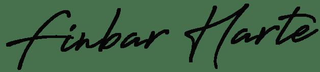 Finbar Harte signature