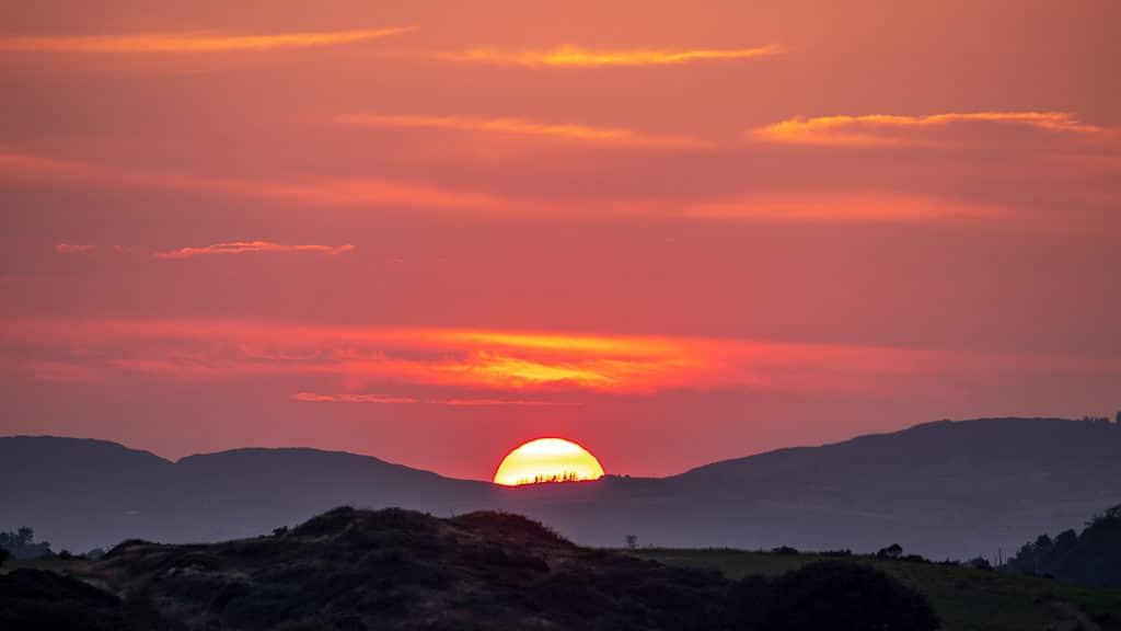 Red sky West Cork Sunset