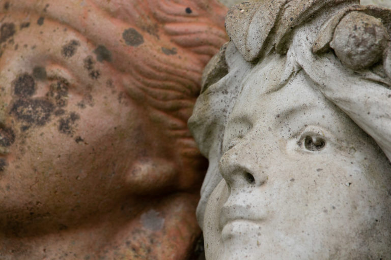 Ceramic lifelike faces