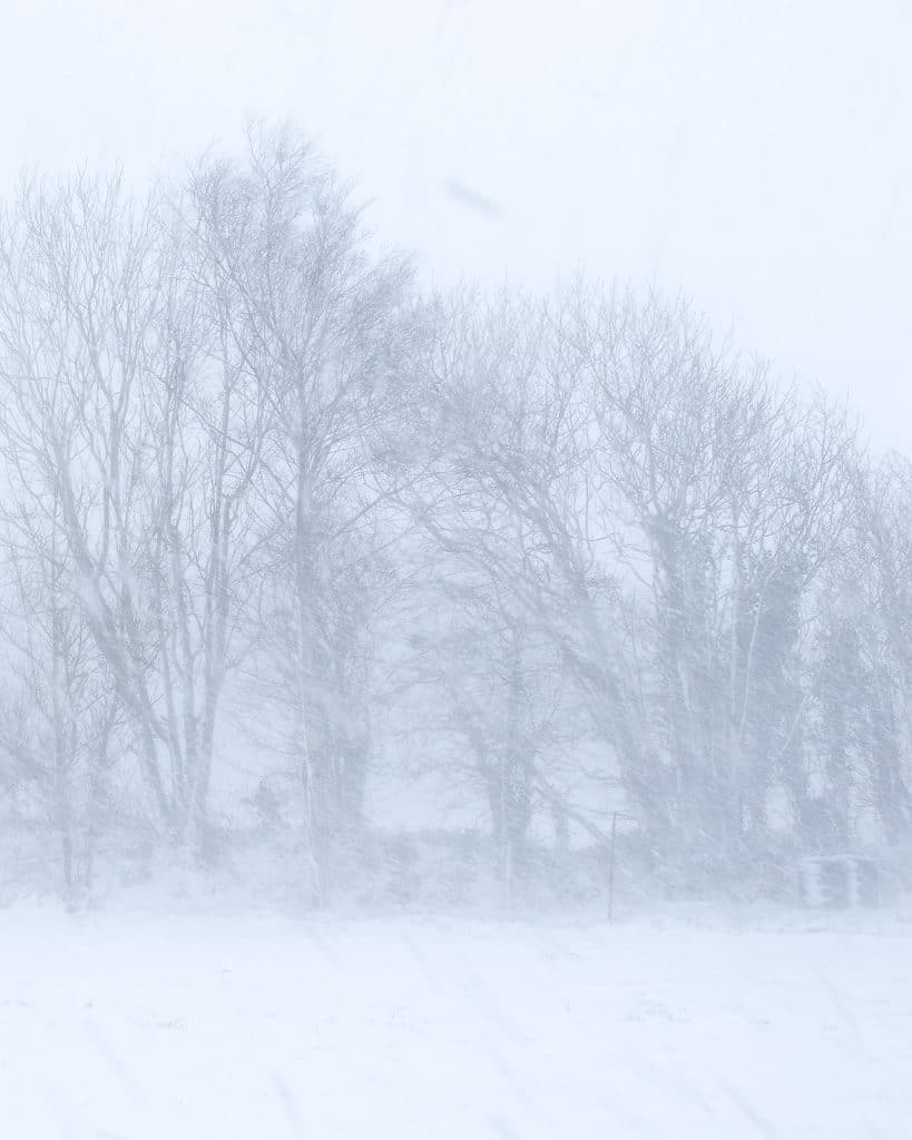 Beast from the east 3 snow storm photograph West Cork