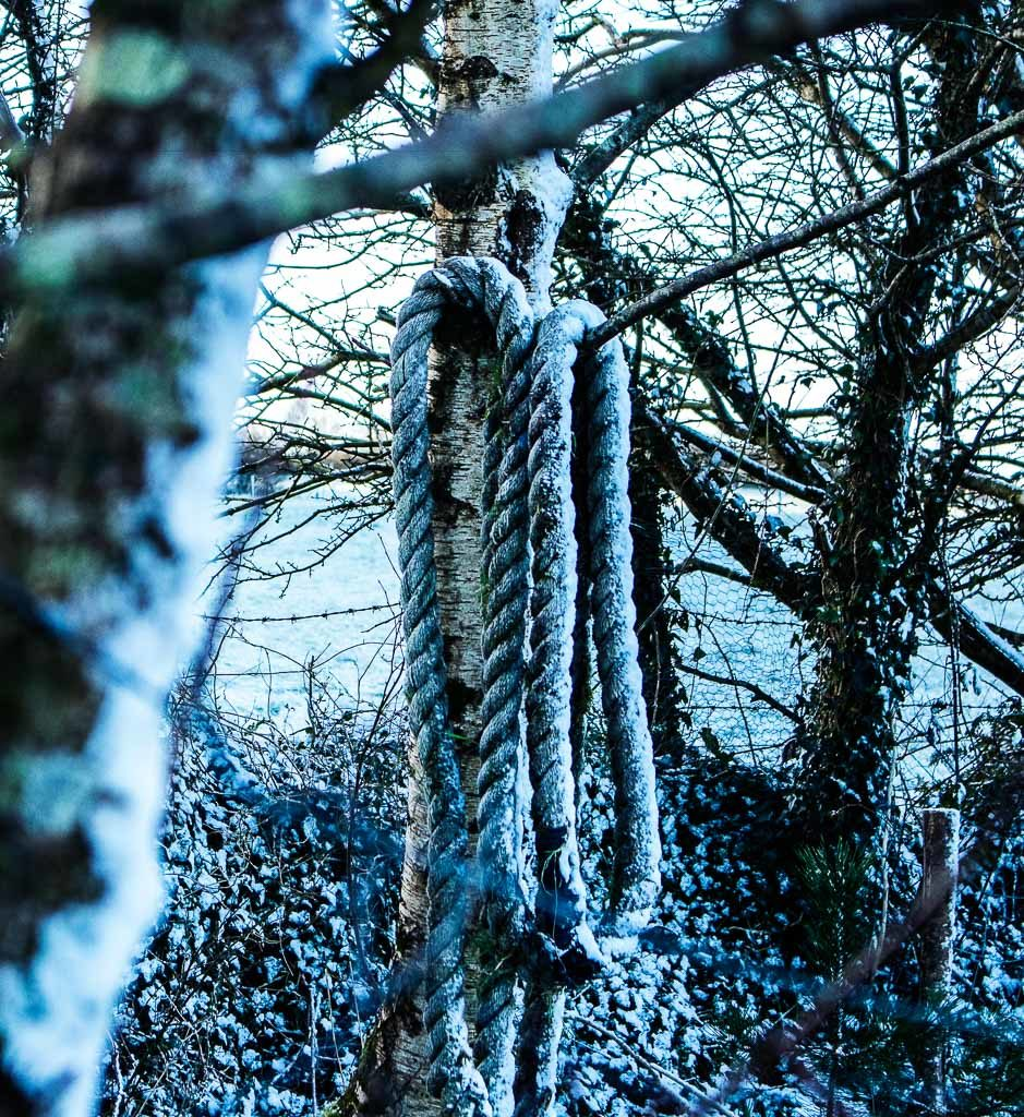Beast from the east 4 snow storm photograph West Cork
